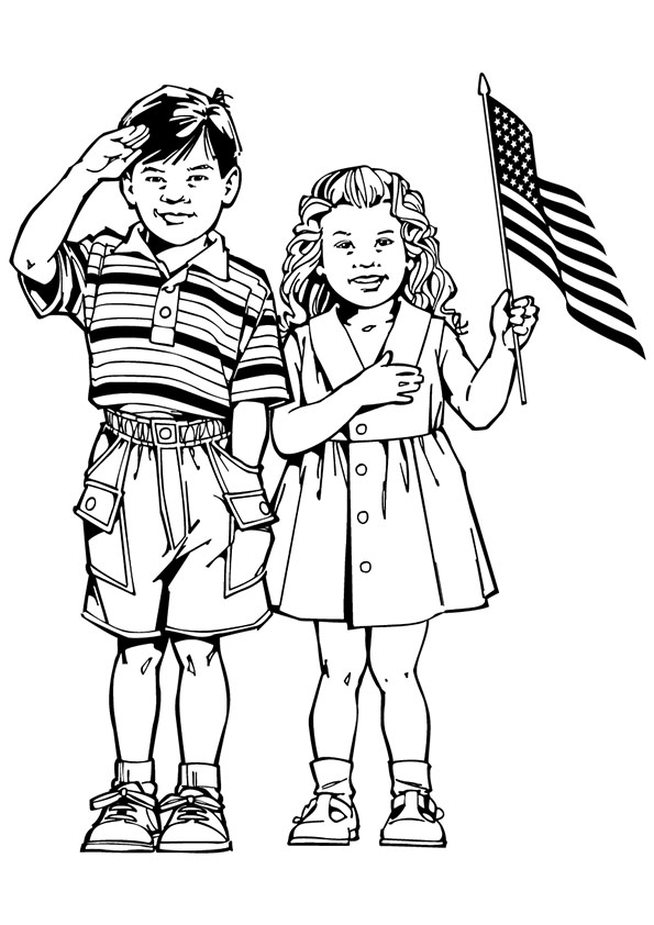 595x842 Printable 4th Of July Coloring Pages To Have Fun This Independence Day