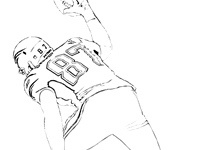 200x150 More New England Patriots Coloring Pages On Maatjes Coloring