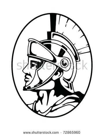 360x470 Patriots Clipart Roman Centurion Retro Illustration Free Clipart