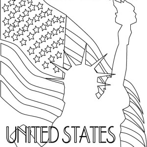 300x300 The Liberty Of United States Of America Patriots Day Coloring