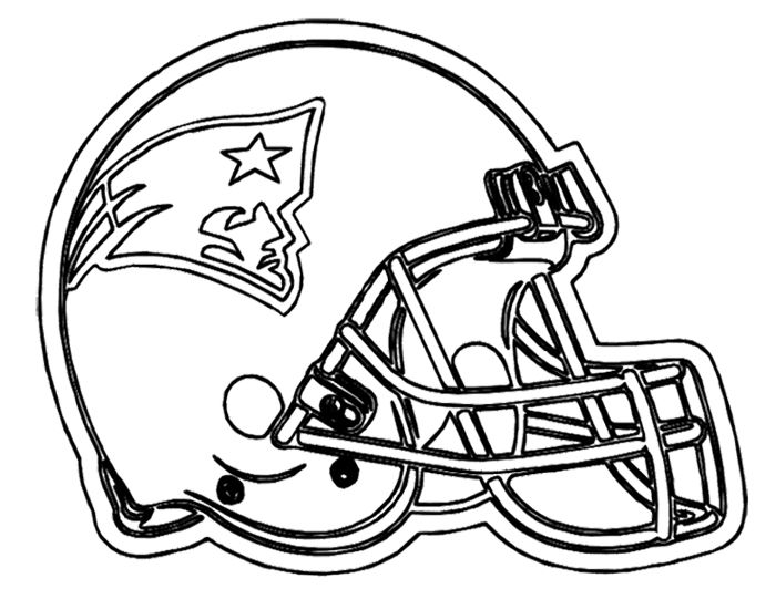 700x541 Football Helmet Patriots New England Coloring Page Kids Coloring