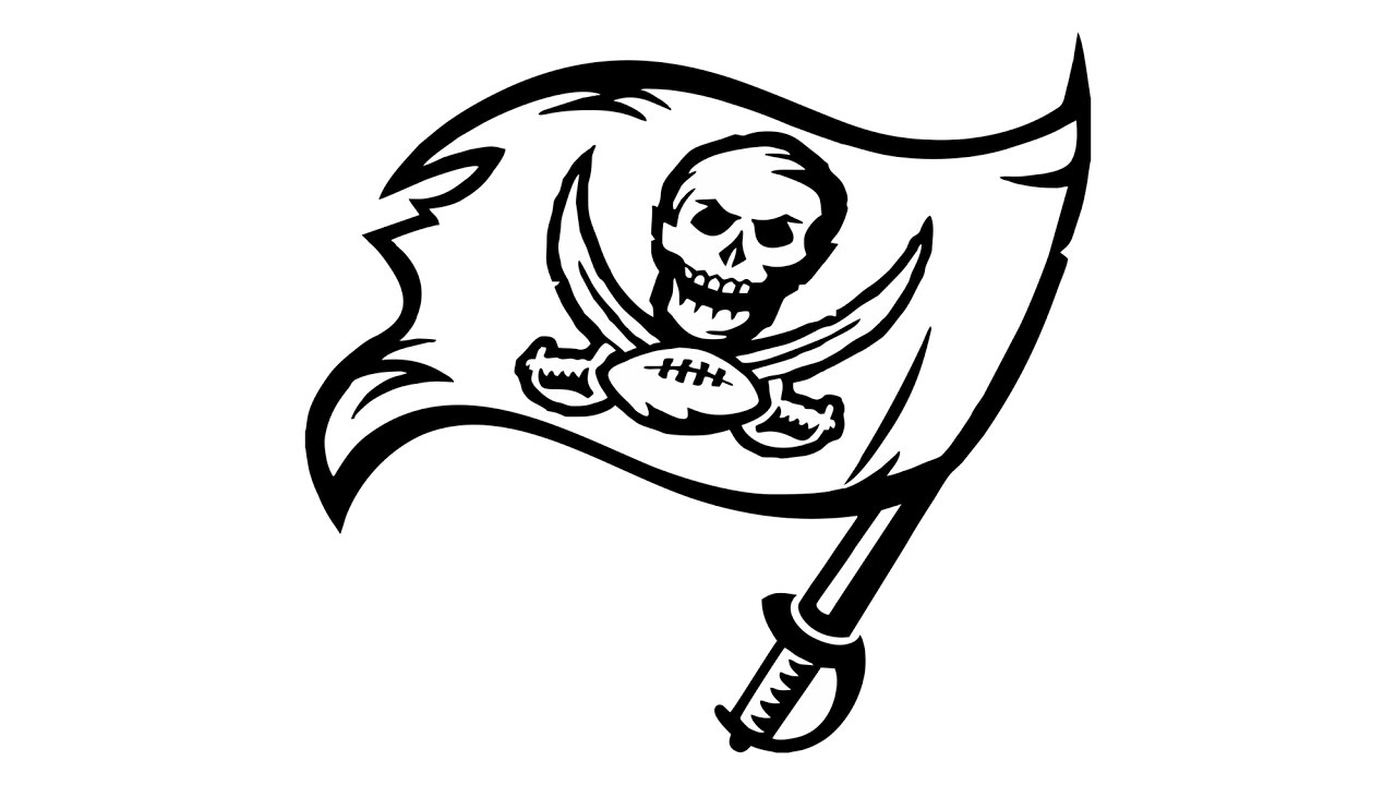 1280x720 How To Draw The Tampa Bay Buccaneers Logo