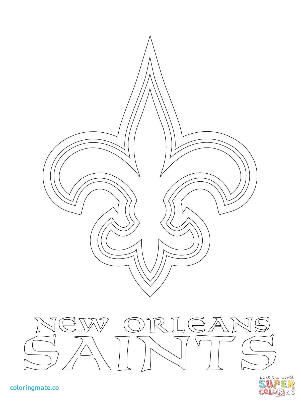 New orleans coloring pages ~ Patriots Logo Drawing at GetDrawings.com | Free for ...