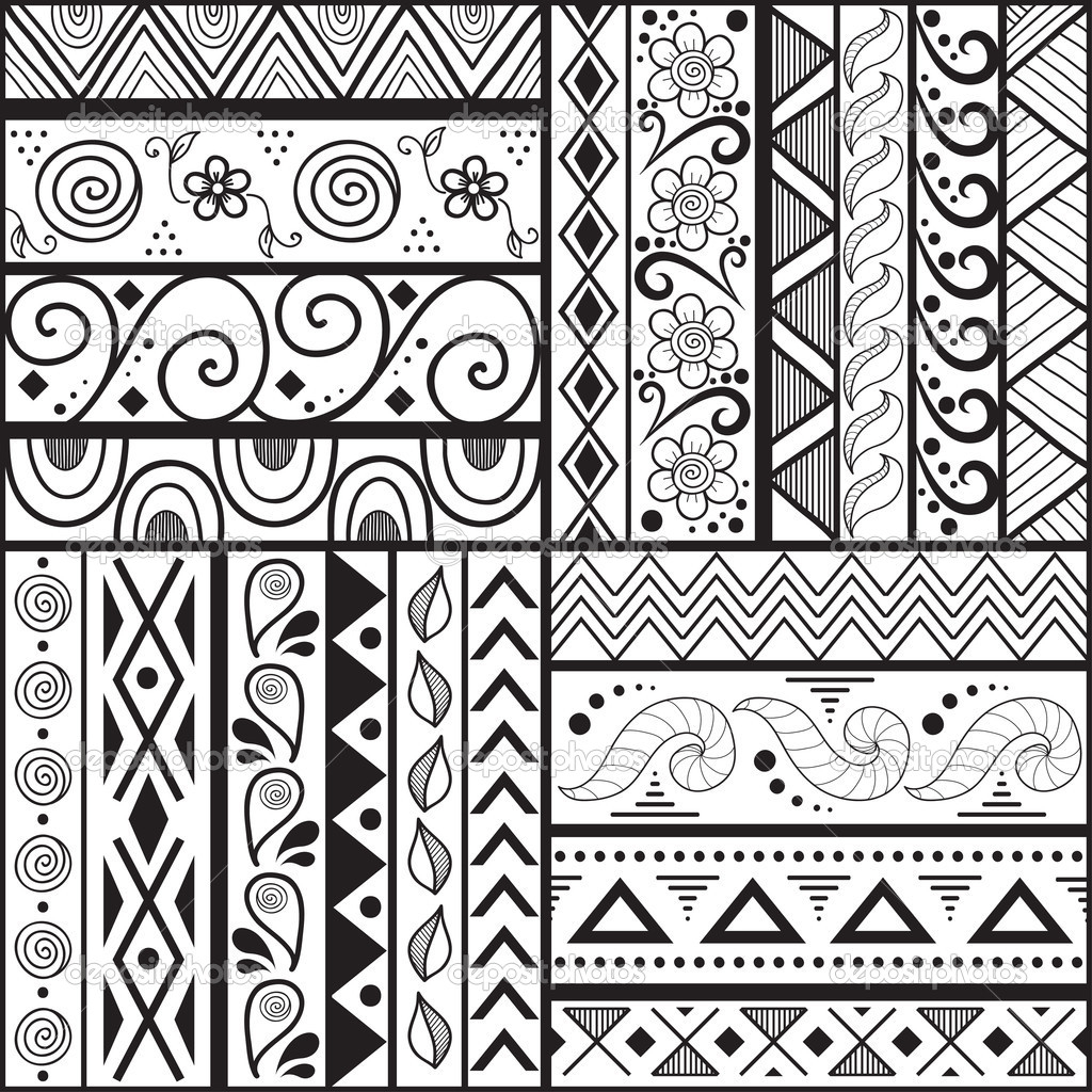 1024x1024 Cool Easy Drawing Patterns