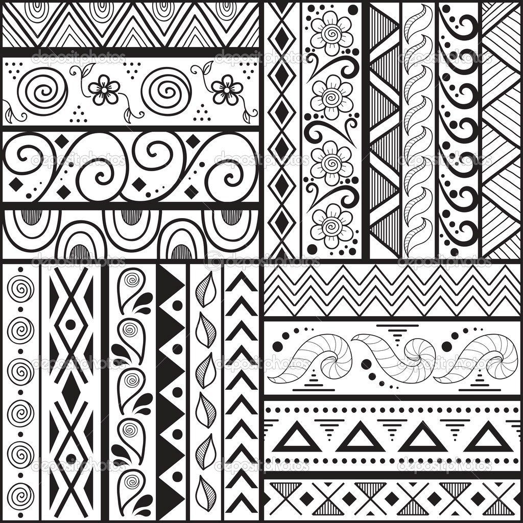 1024x1024 Easy Art Patterns To Draw For Kids Q Pattern Drawing