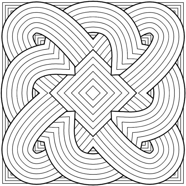 736x736 Patterns Coloring Pages Coloring Page For Kids