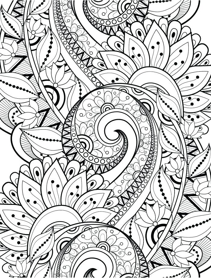700x924 Awesome Crazy Coloring Pages Kids Busy For Adults Page 6
