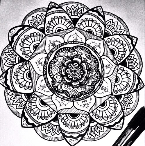 499x503 Mandala!! Mandala Mandala And Draw