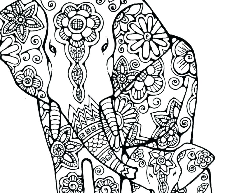 936x768 Best Of Elephant Coloring Pages Pictures