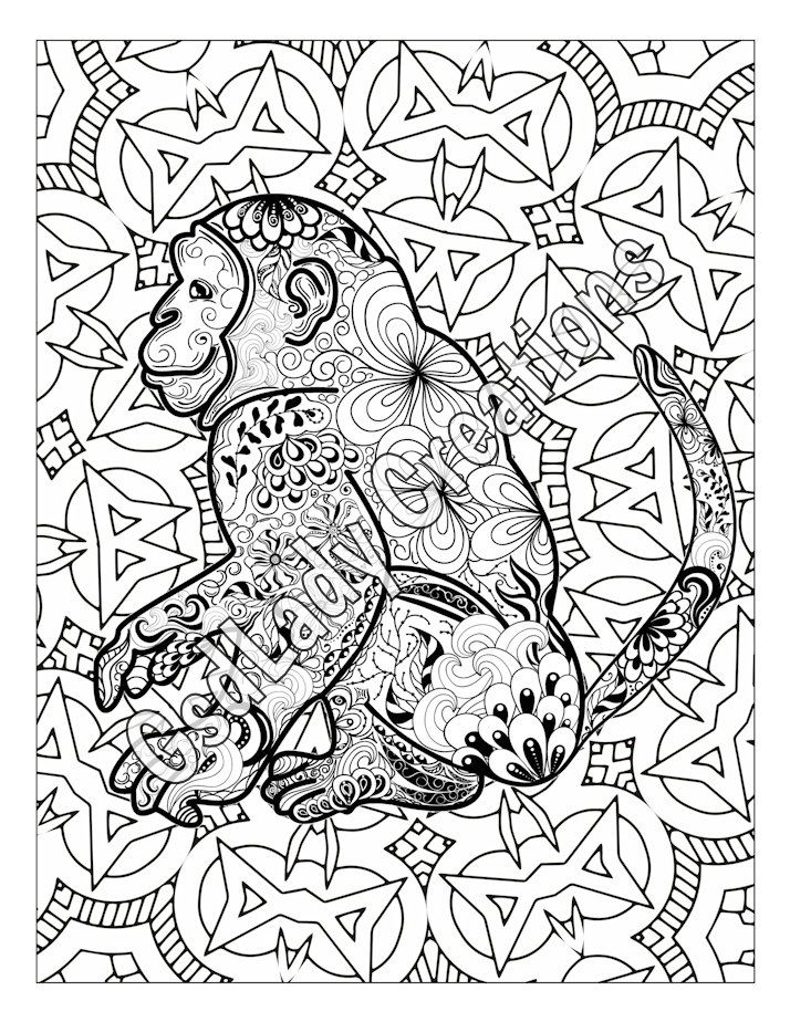 Patterns Animals Drawing