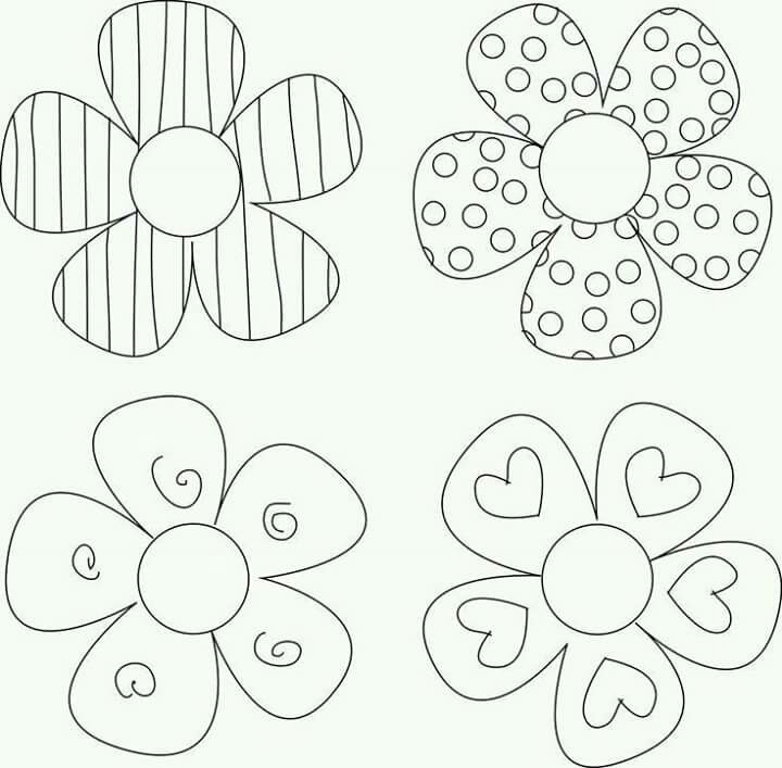 720x707 Delighted Flower Patterns For Kids Pattern Cute Vector Art Clothes