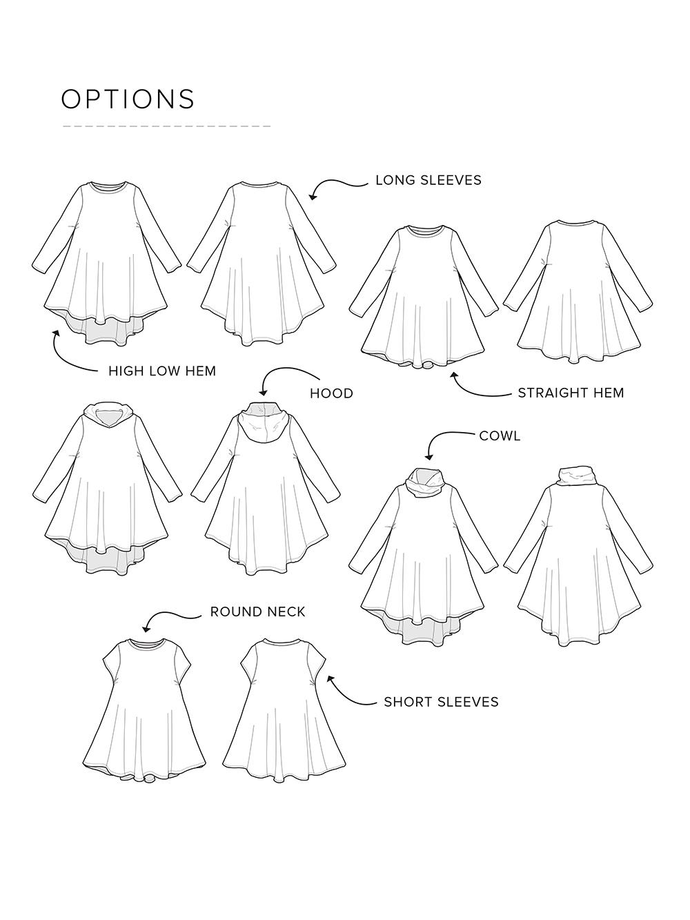 1000x1333 Groove Dress For Kids Madeit Patterns