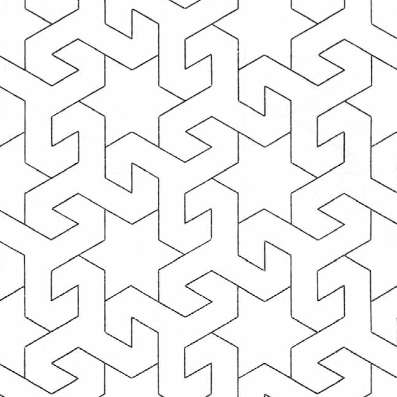 1282x1282 Islamic Patterns