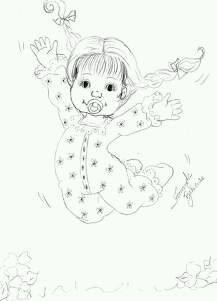 217x301 Pin By Mercedes Ulloa On Dibujos Infantiles Embroidery