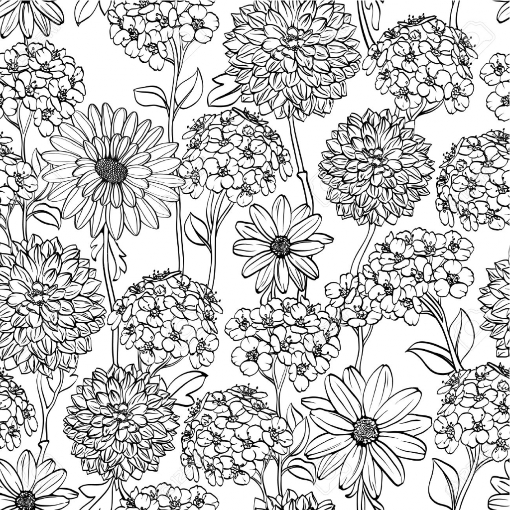 1024x1024 Flower Drawing Patterns Simple Flower Drawings Tumblr Flower