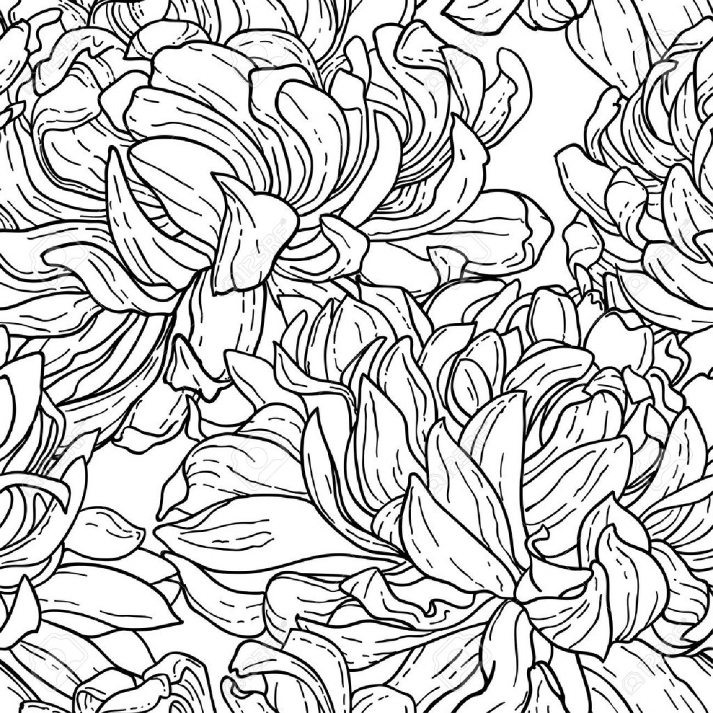 1024x1024 Flower Patterns Drawing Simple Flower Drawings Tumblr Flower