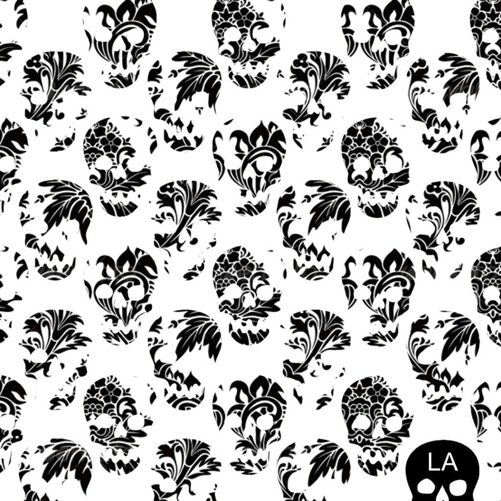 1024x1024 Skull Pattern Wallpaper Tumblr