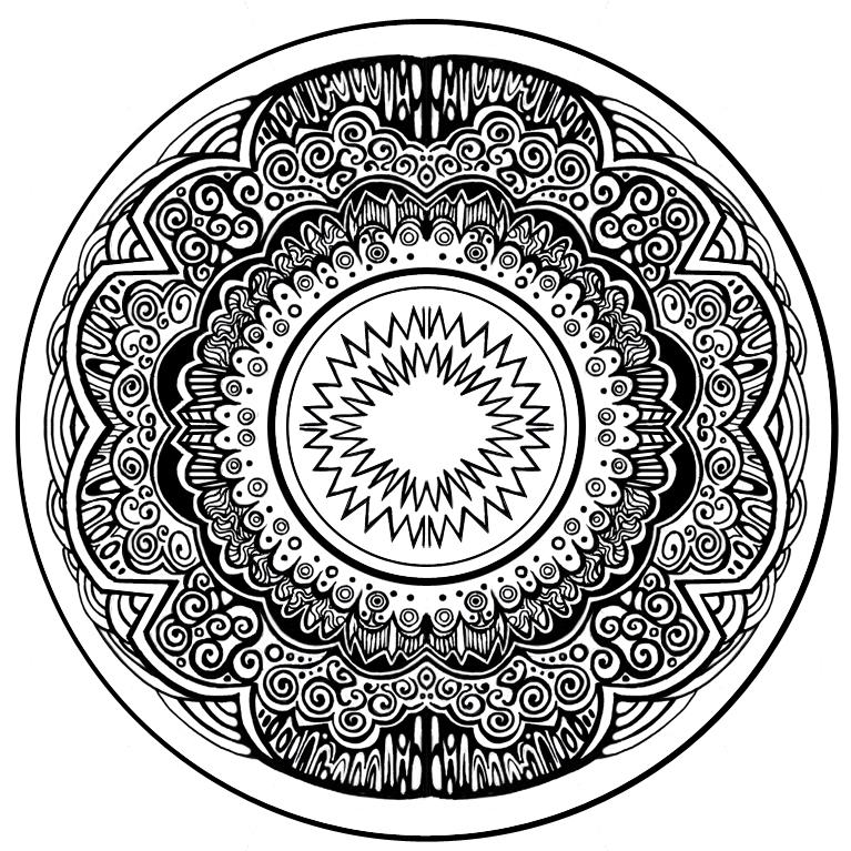 767x767 Circular Pattern By Zyari