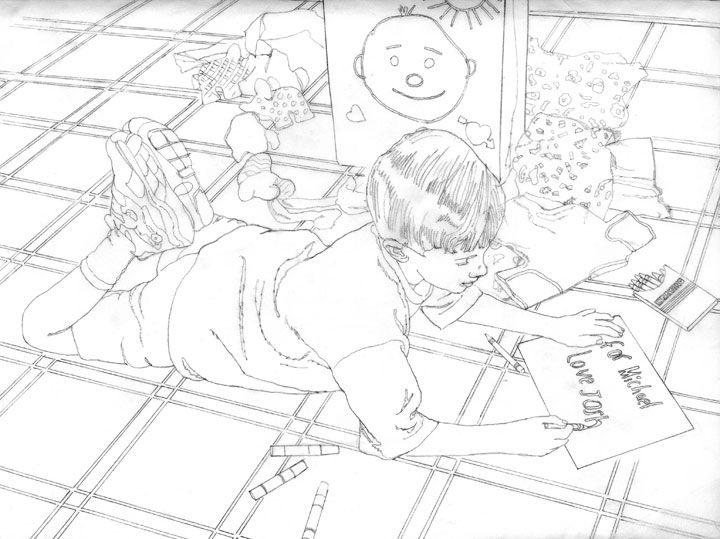 Paul Cezanne Drawing