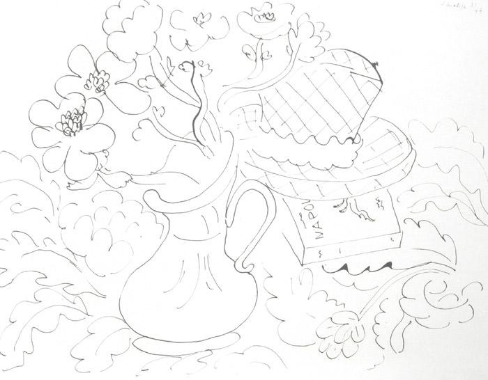 700x546 Henri Matisse Drawings