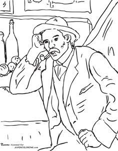 236x300 Los Jugadores De Cartas. Paul Cezanne A Cassatt, Cezanne, Degas