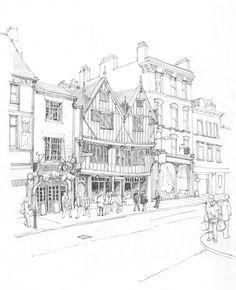 236x290 The Golden Fleece And Herbert House, Pavement, York Pavement