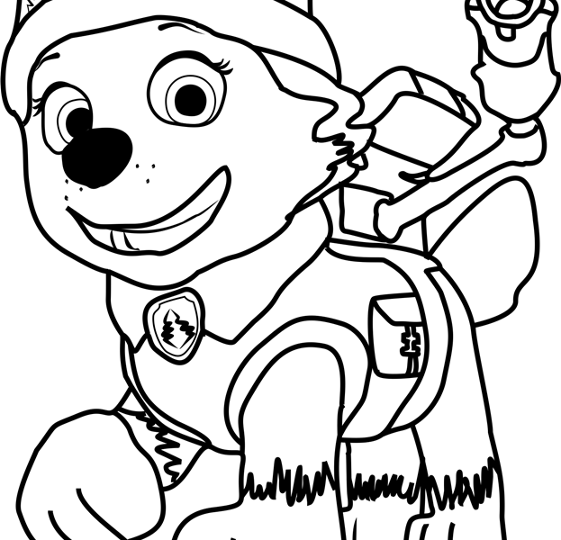 623x600 Free Pictures To Colour Paw Patrol Pictures To Colour And Free