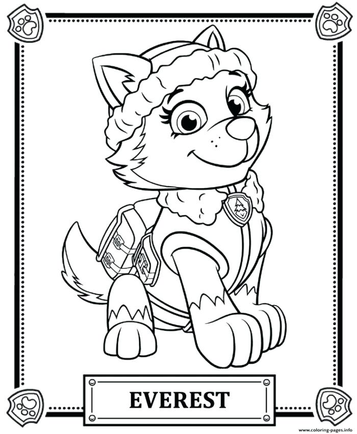 700x852 Paw Patrol Coloring Pages Plus Paw Patrol Coloring Pages Drawing