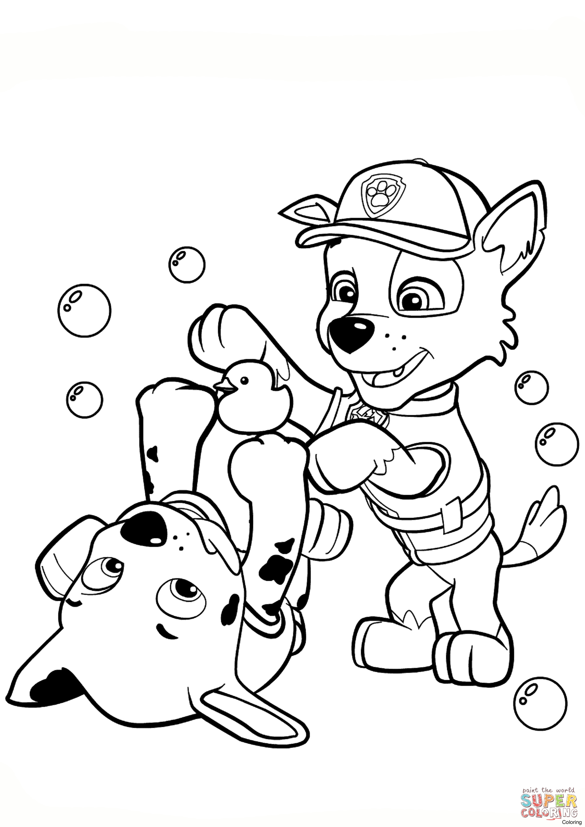 Paw Patrol Everest Ausmalbilder : Paw Patrol Chase Drawing At Getdrawings Com Free For Personal Use