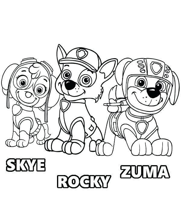 paw patrol chase drawing at getdrawings com free for personal use