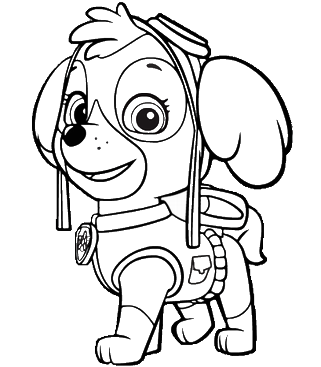 Paw Patrol Drawing at GetDrawings com | Free for personal