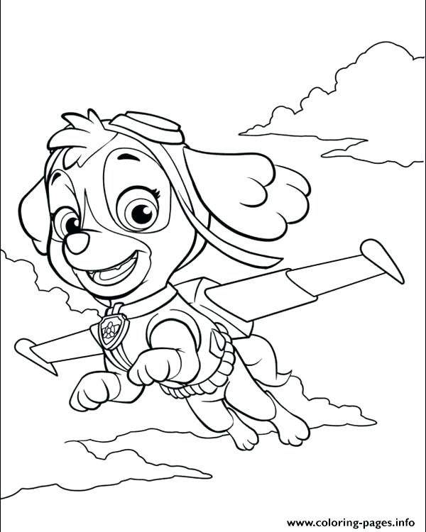 600x750 Paw Patrol Coloring Pages Together With Paw Patrol Coloring Pages