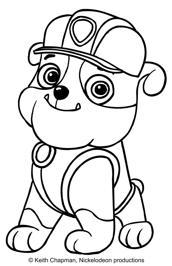 Paw Patrol Drawing At Getdrawings Com Free For Personal Use Paw