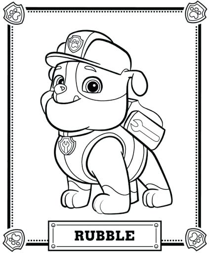 423x512 Book To Color Paw Patrol Draw 2 Coloring Pages Printable And