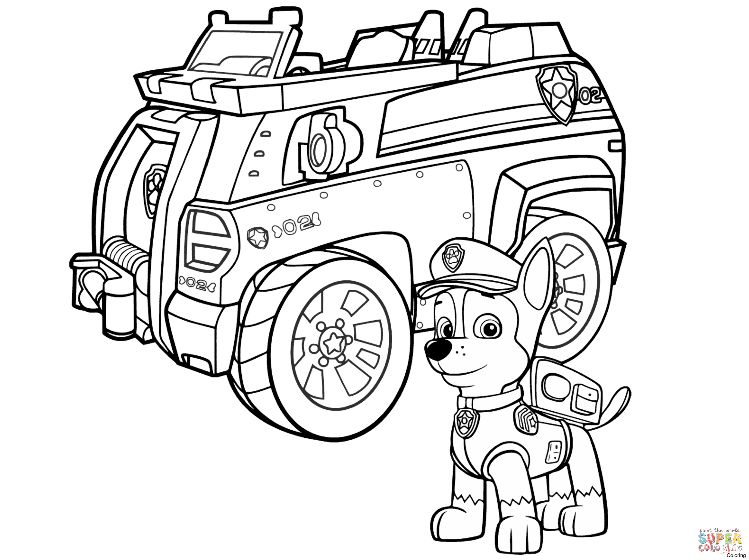 2486x1858 Free Printable Paw Patrol Coloring Pages For Kids Print Out And