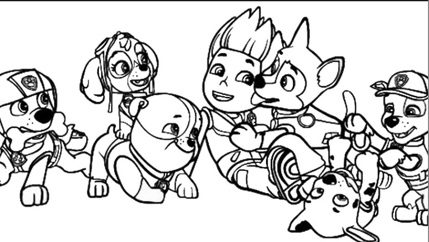 Kleurplaten Paw Patrol Everest.Paw Patrol Drawing Games At Getdrawings Com Free For Personal Use