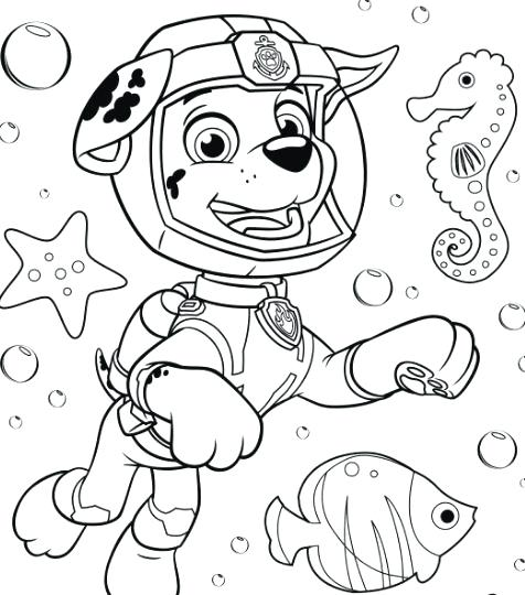 476x540 marshall paw patrol coloring pages paw patrol coloring page for - Paw Patrol Coloring Pages