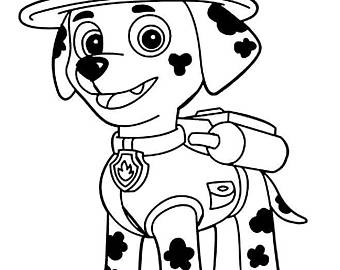 paw patrol marshall drawing at getdrawings | free for personal use paw patrol marshall