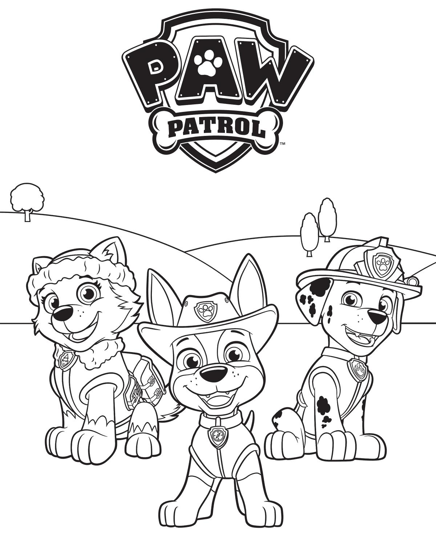 Paw Patrol Marshall Drawing at GetDrawings | Free download