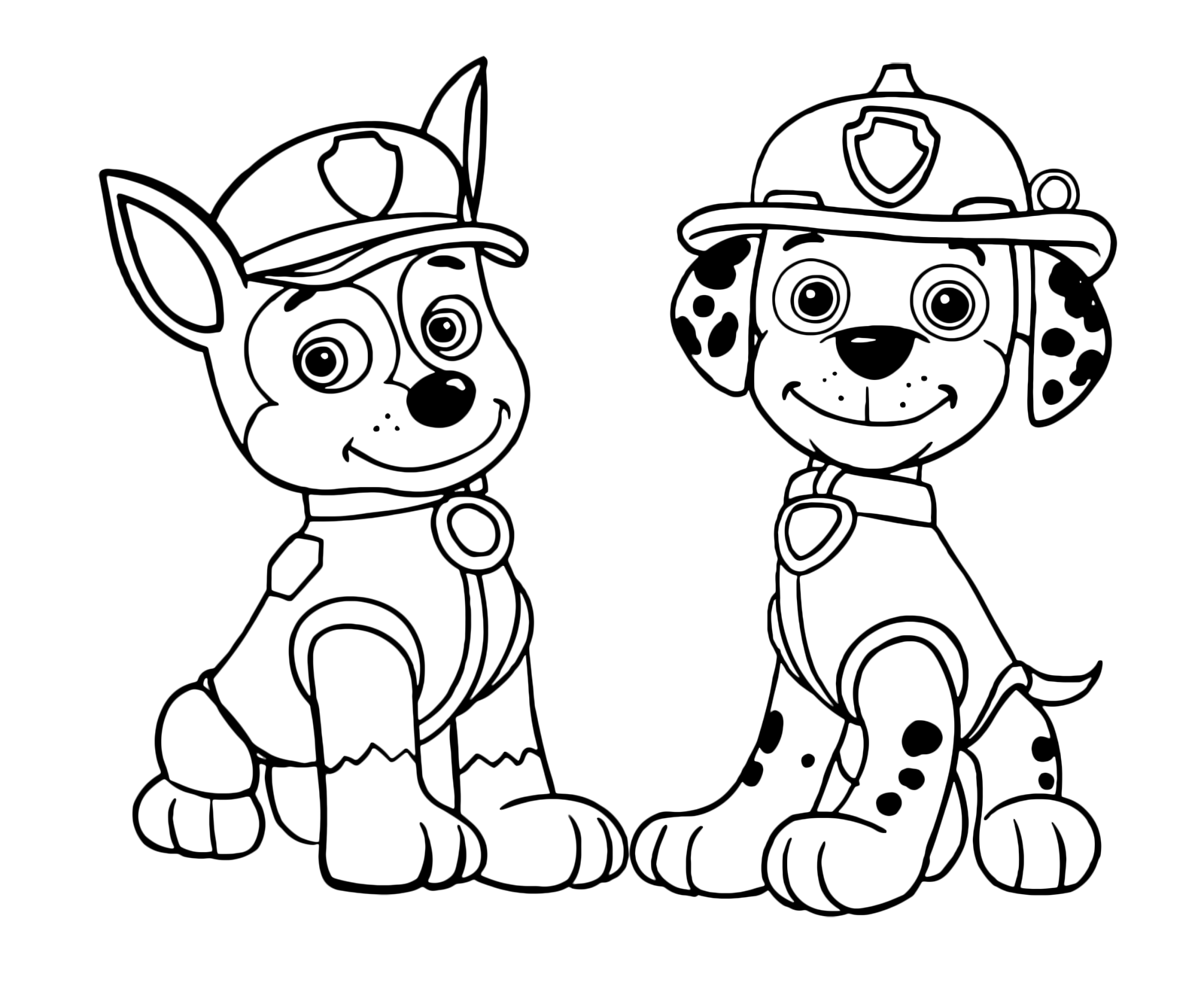 Paw Patrol Marshall Drawing at GetDrawings.com | Free for ...