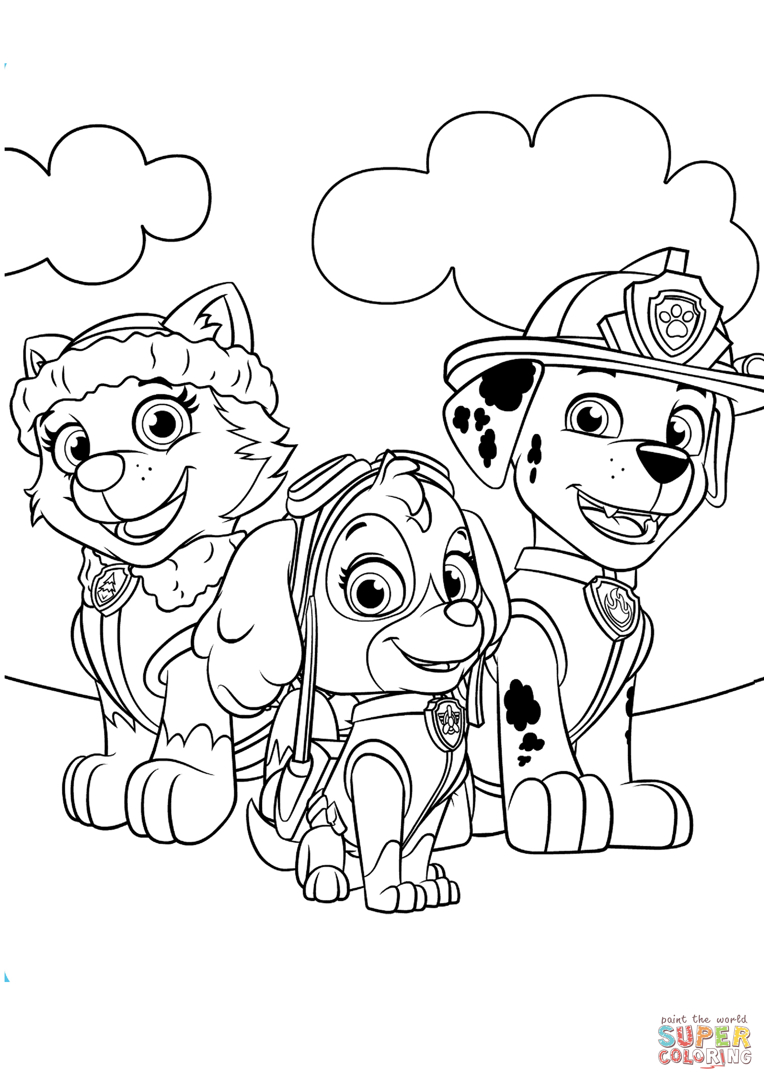 Paw Patrol Marshall Drawing At Getdrawings Com Free For Personal