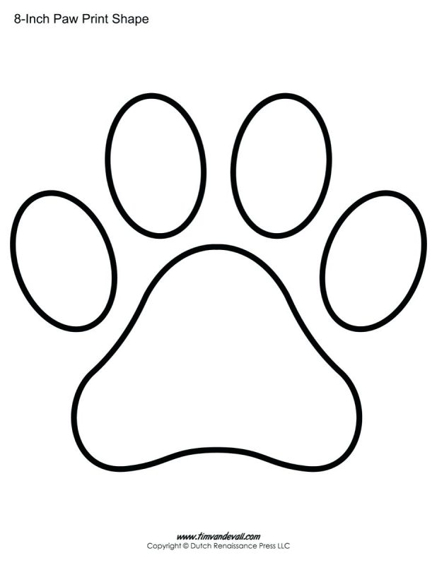 618x800 Paw Print With Turtle Coloring Pages Vector Stock 47 Fascinating