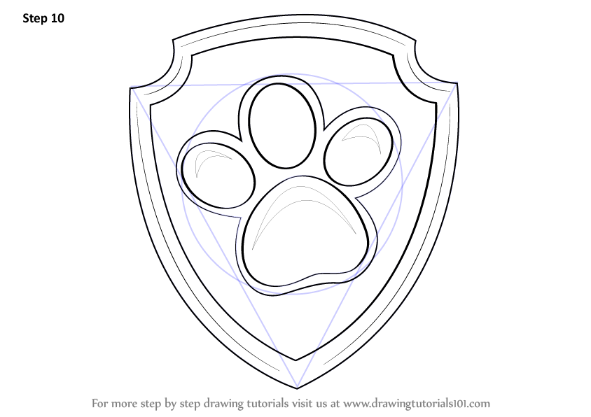 Pawprint Drawing at GetDrawings com | Free for personal use