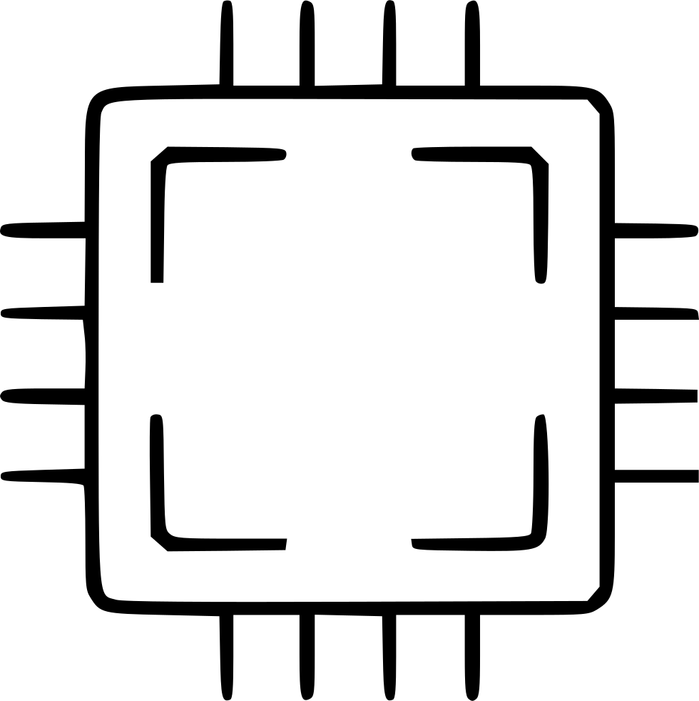 980x982 Cpu Processor Computer Desktop Tower Pc Electronic Svg Png Icon