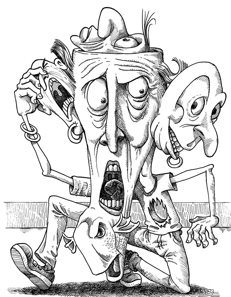 789x1013 Grotesque Sketchbook Drawing Number Not Sure By Barrydeutsch