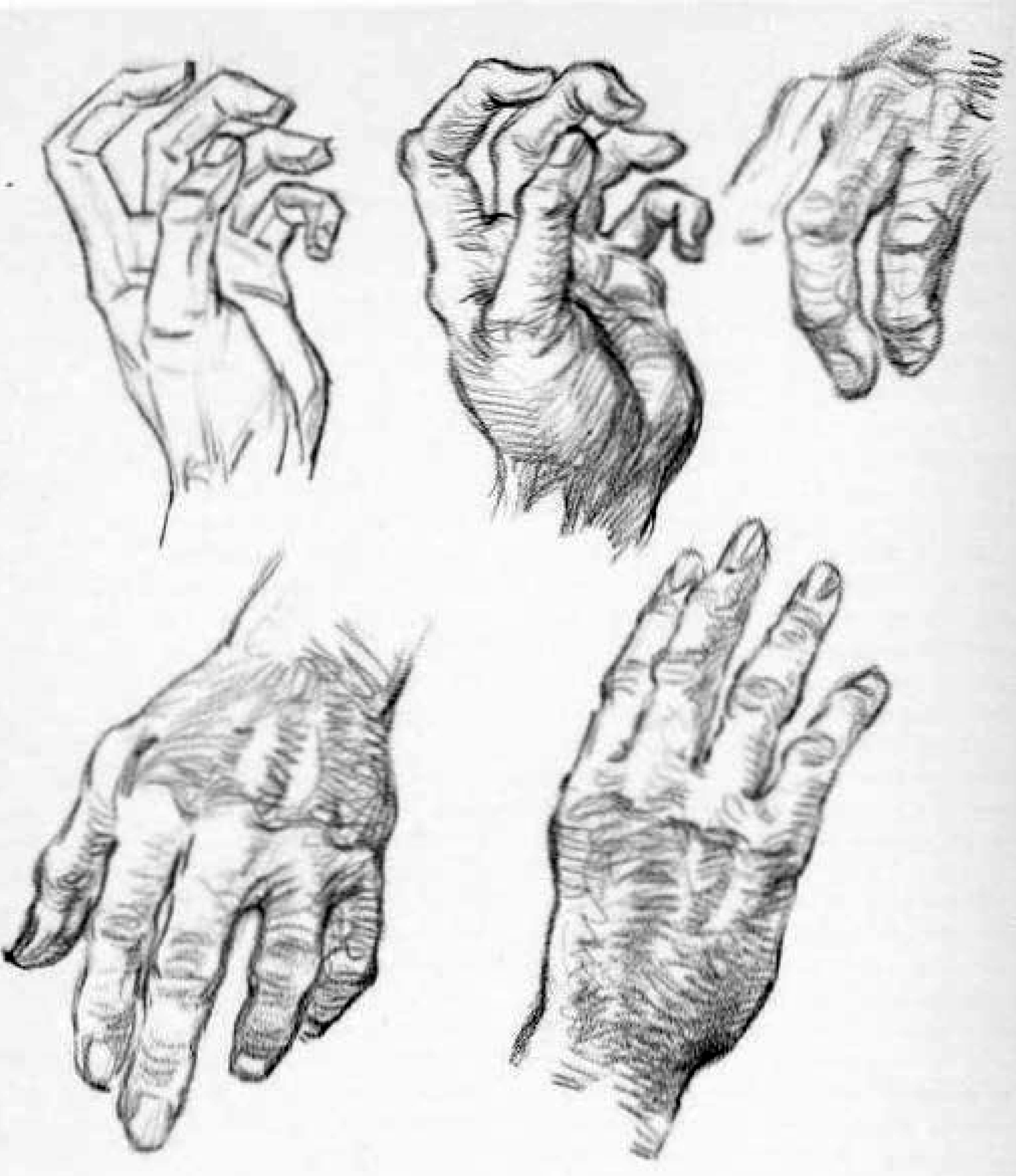 2107x2439 How To Draw Hands