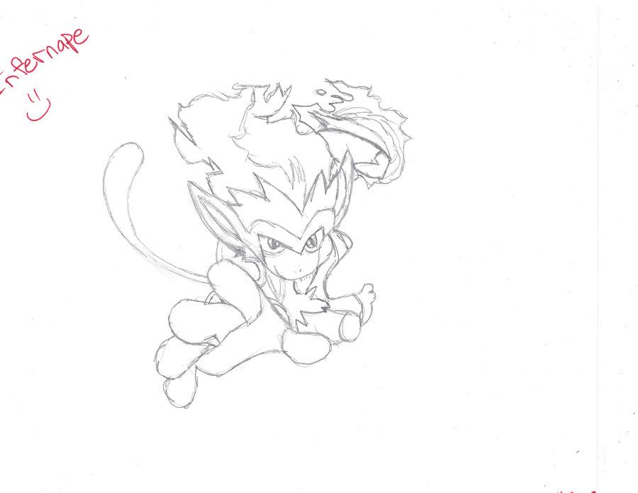 900x695 Infernape Drawing Giveaway By Xnekorainbow