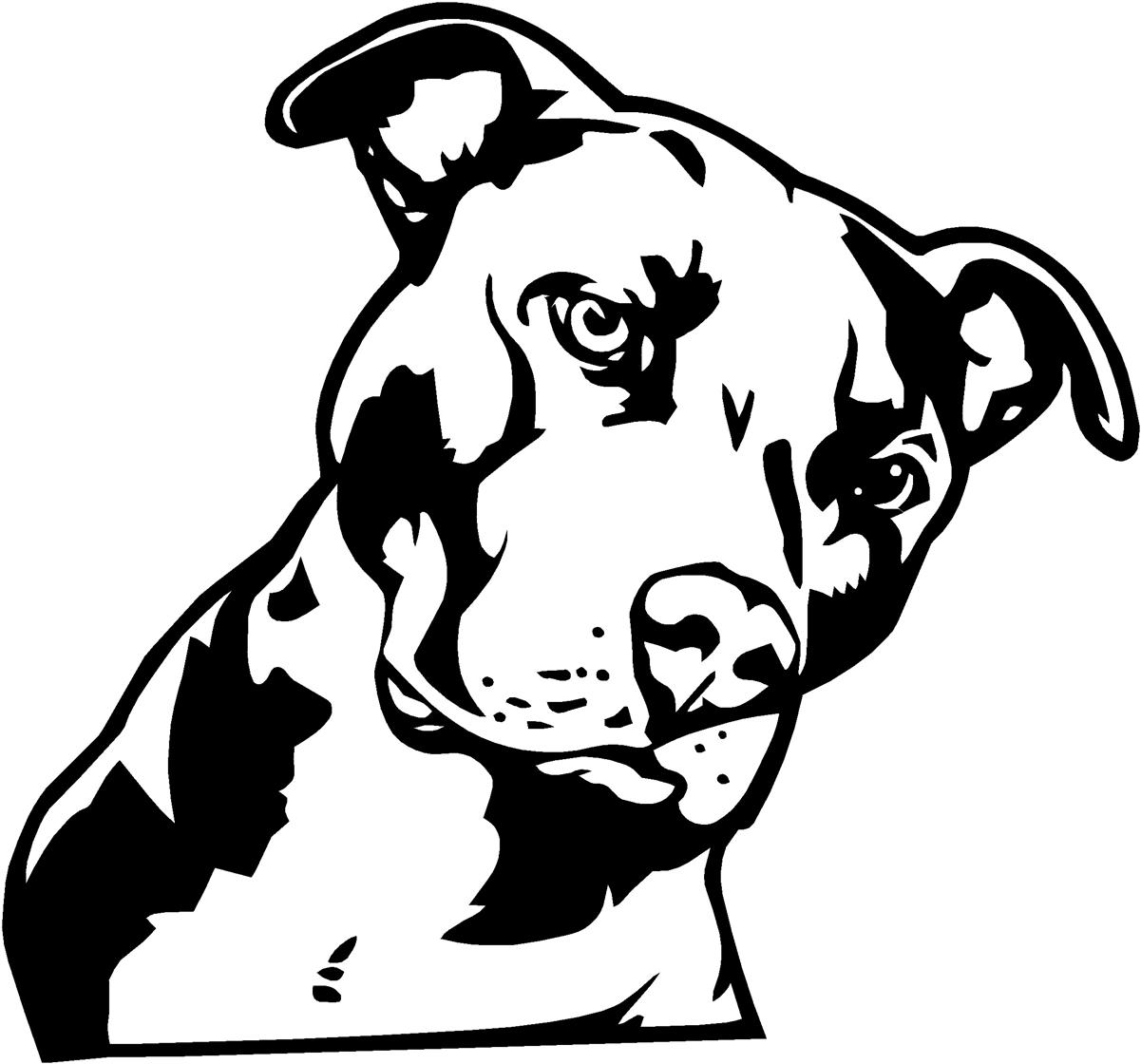 1201x1120 Pitbull Dog Black And White Drawings