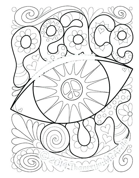 469x600 Peace Coloring Pages Download Peace Coloring Pages 7 Peace Sign