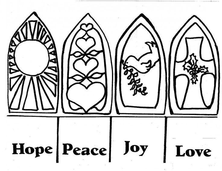 736x568 Hope Peace Love Joy Advent